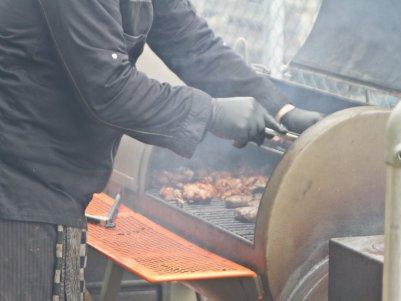 Winterbuffet Live Cooking