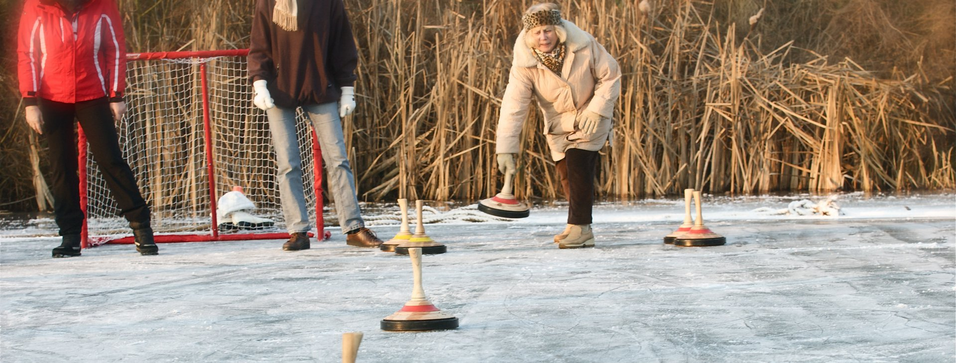 Markant winter curling